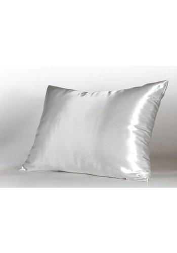 SHINE Bedding SHINE Haircare Slopen wit 100 % microlinnen 60x70 (2) plat verpakt.