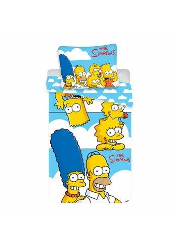 Fox Entertainment Dekbedovertrek Licentie Simpsons Clouds 140 x 200