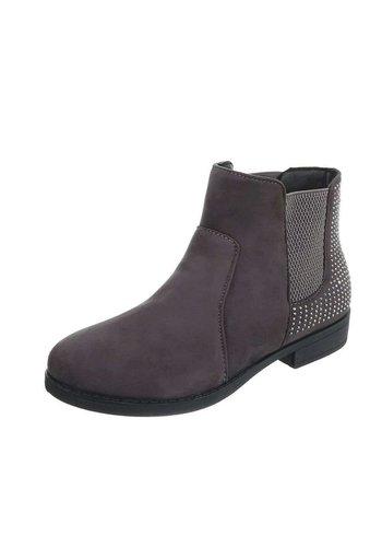 Neckermann Damen Chelsea Boots - gray