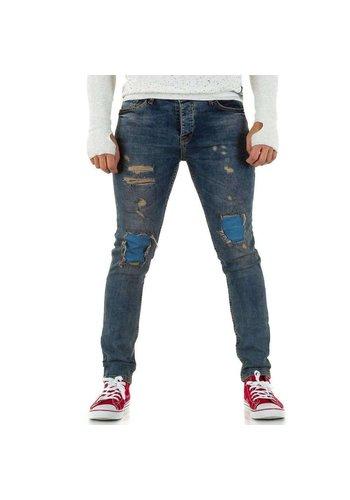 Neckermann Heren jeans van Uniplay - tintblauw