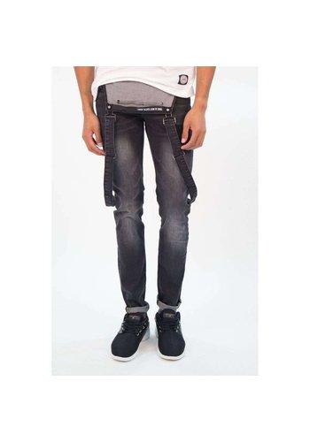 SIXTH JUNE Heren jeans zes juni - Zwart