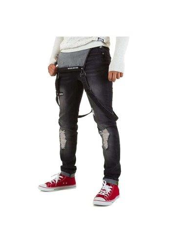 SIXTH JUNE Herren Jeans von Sixth June - blac