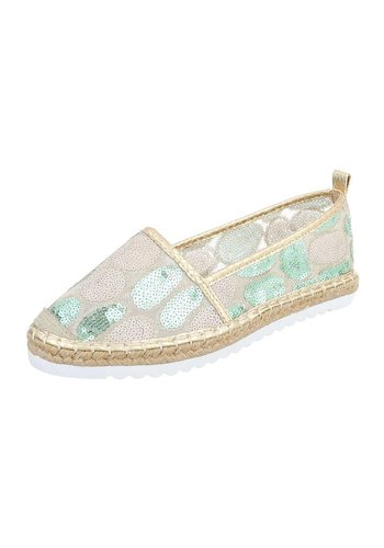 Neckermann Chaussures Casual pour femme - doré