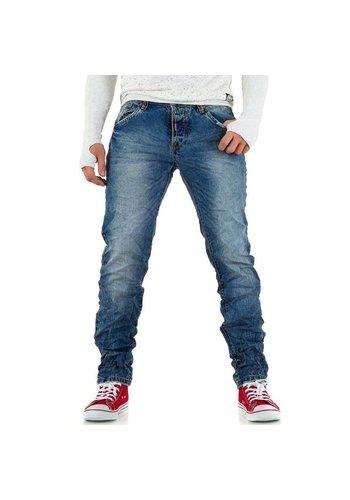 Neckermann Heren jeans van Wangue Jeans - blauw