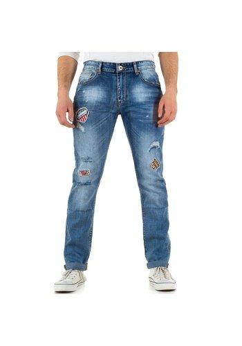 Neckermann Heren jeans van Black Ace - blauw
