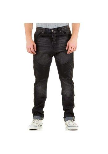 SIXTH JUNE Heren Jeans van Sixth June  - grijs
