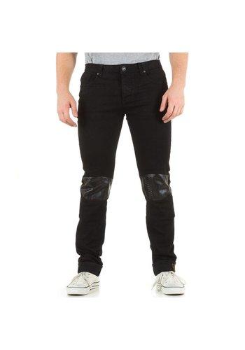 SIXTH JUNE Heren Jeans van Sixth June  - zwart