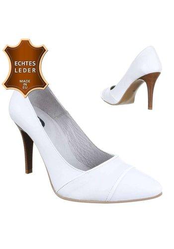 Neckermann Damen Leder High Heels - white