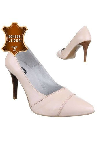 Neckermann Damen Leder High Heels - nude