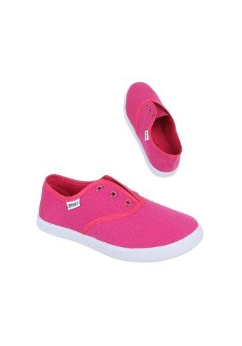 Neckermann Chaussures décontractées pour enfants - fuchsia