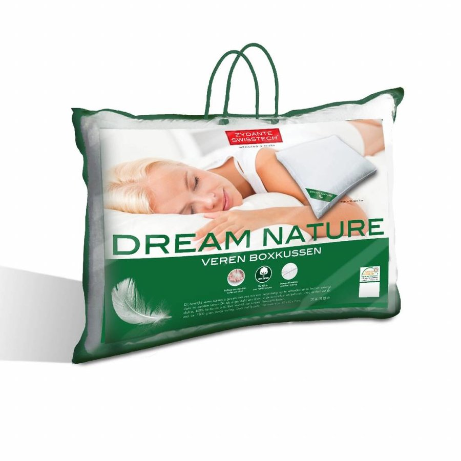 Hoofdkussen Dream Nature veren box kussen