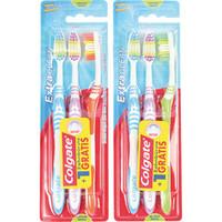 Tandenborstel COLGATE 3er Extra Clean