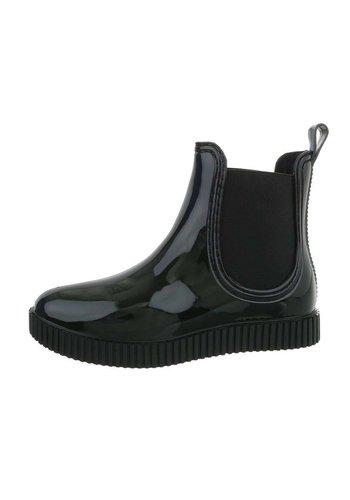 Neckermann Dames rubberen enkellaarzen - zwart