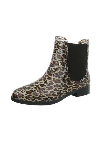 Neckermann Dames rubberen laarzen - leopard
