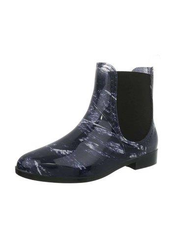 Neckermann Dames rubberen laarzen - blauw