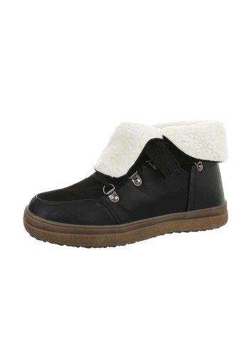 Neckermann Dames lage sneakers - zwart