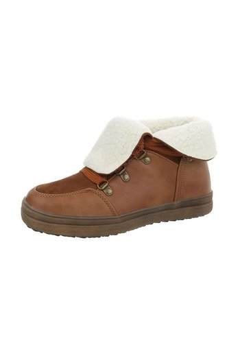 Neckermann Lage sneakers voor dames - Camel