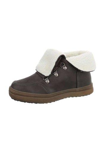 Neckermann Dames lage sneakers - grijs