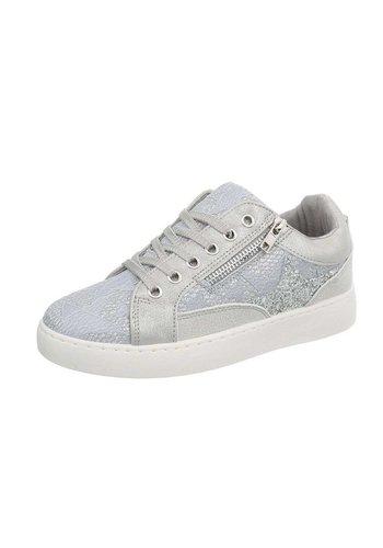 Neckermann Dames sneakers laag - grijs