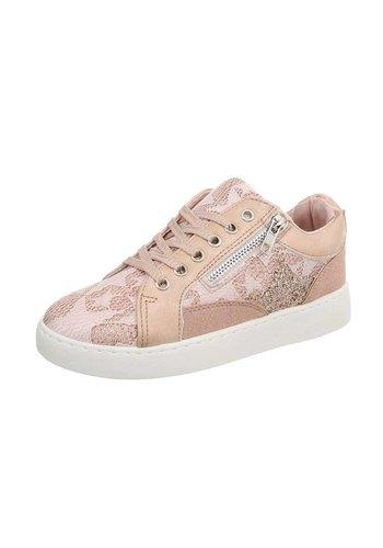 Neckermann Dames sneakers laag - roze