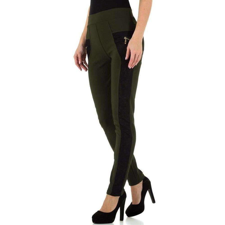 Pantalon femme Holala - vert