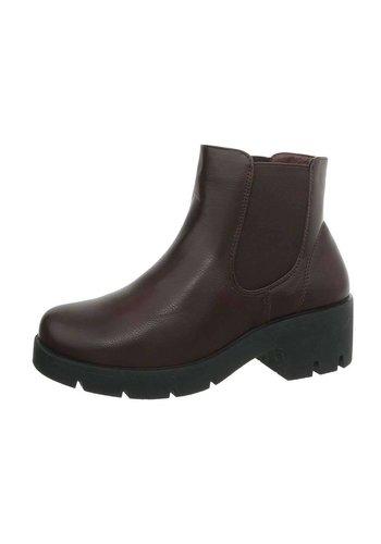 Neckermann Dames Chelsea Boots - bruin