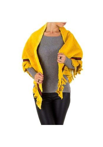 Neckermann Damen Jacke von Holala Gr. one size - jaunecurcuma