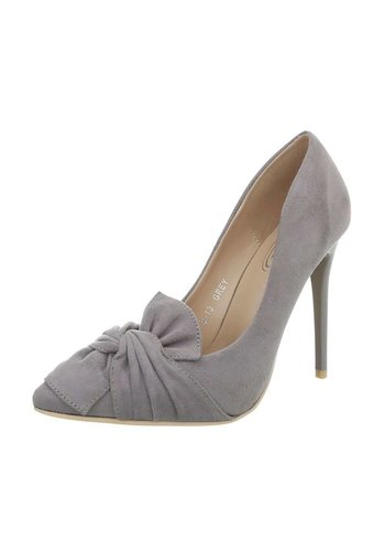 Neckermann Dames Hoge hak Pumps - grijs