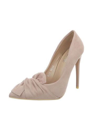 Neckermann Dames Hoge hak Pumps - beige