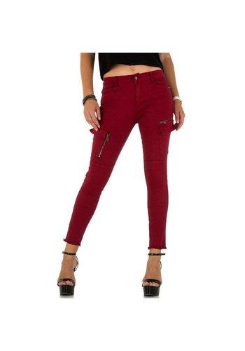 Neckermann Damen Jeans von Daysie Jeans - darkred