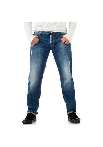 Neckermann Heren Jeans door Y.Two Jeans - blauw