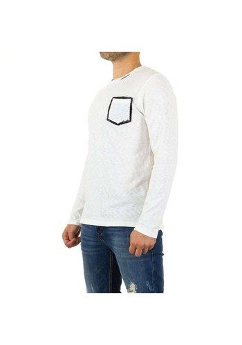 Neckermann Chemise pour homme par Y.Two Jeans - blanc
