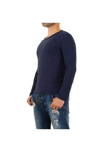 Neckermann Heren Sweater trui van Y. Two Jeans - Blauw