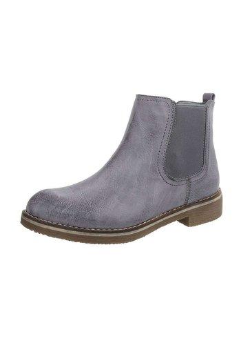 Neckermann Dames Chelsea Boots - staalblauw