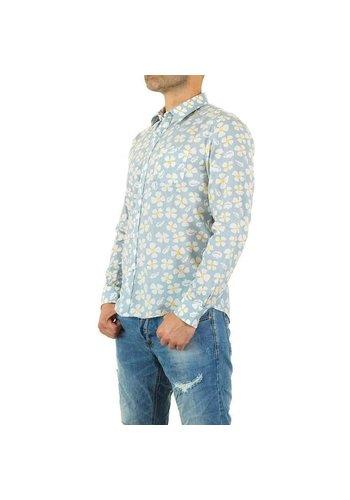 Neckermann Herren Hemd von Y.Two Jeans - lightblue