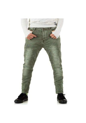 Neckermann Heren Jeans regular fit - legergroen