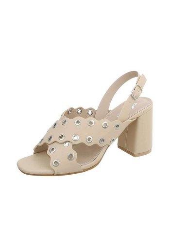Neckermann Dames Sandalette - abrikooskleurig