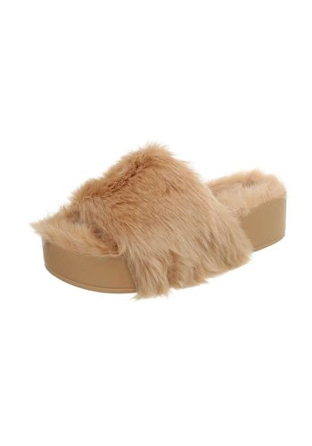 Neckermann Dames Pantoffel - beige