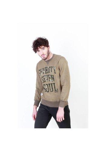 Seventy Seven Heren sweater   Seventy Seven 77MCS220