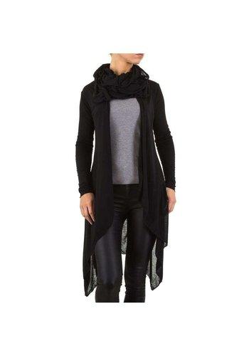 USCO Dames vest van Usco - zwart