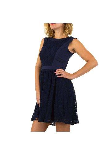 Neckermann Dames jurk  - marineblauw
