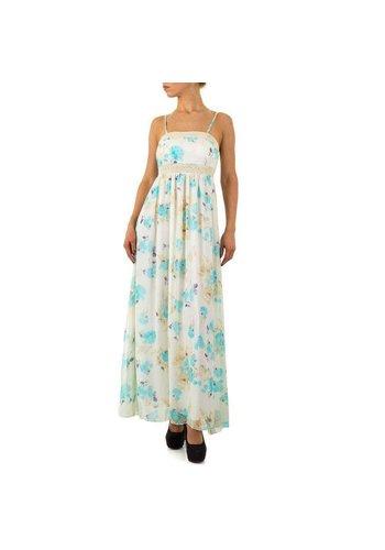 Neckermann Dames jurk - lang  - multi kleuren