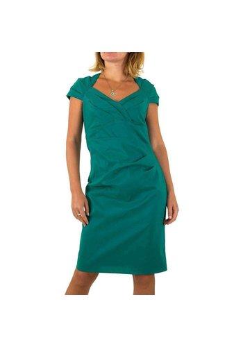 Neckermann Damen Kleid von Vera Mont - petrol