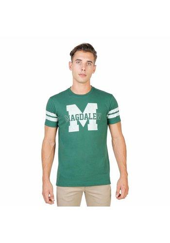 Oxford University Heren shirt Oxford University MAGDALEN-STRIPED-MM