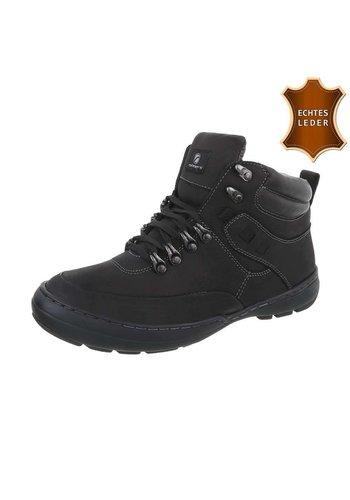 Neckermann Heren schoen - half hoog - zwart