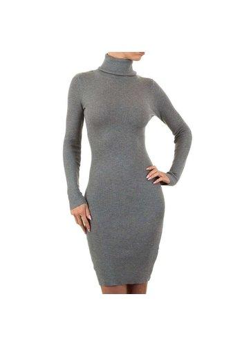 Neckermann Dames jurk - 1 maat - grijs