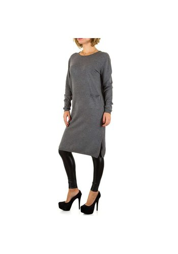 SHK PARIS Damen Kleid von Shk Paris Gr. one size - D.grey
