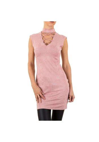 NOEMI KENT Dames jurk van Noemi Kent - zalmroze