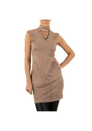 NOEMI KENT Dames jurk van Noemi Kent - khaki