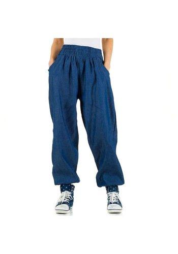 Neckermann Dames broek - 1 maat -  blauw